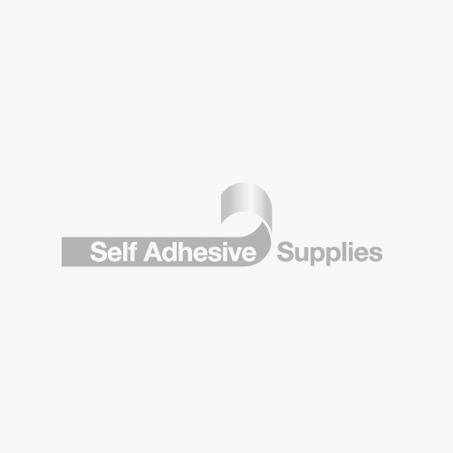 AT205 Matt Black Foil Gaffa® Tape Roll length 25Mtrs