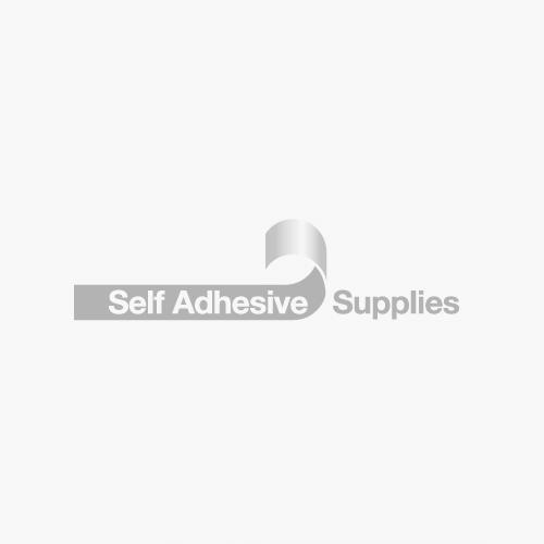 Foil backed Pit Lane Tape - White - 100mm x 18mtrs