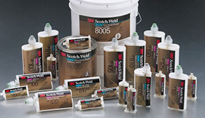 Picture of 3M Scotch Weld adhesive range
